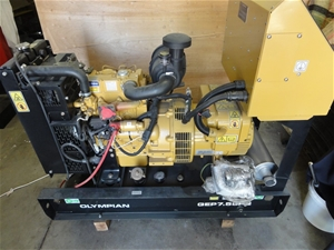 Caterpillar Olympian GEP 7 5 SP2 Skid Mounted Diesel Generator