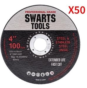 """50 X 4"""" 100Mm Cutting Disc Wheel Thin An"""