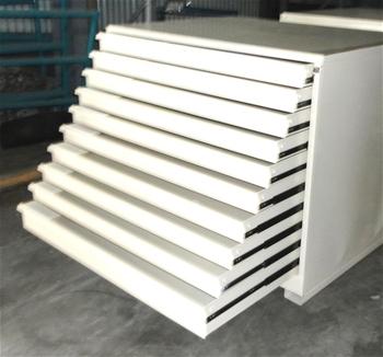 High Density Drawer Unit Plan Drawers Parts Storage
