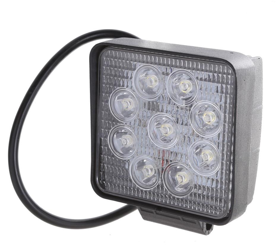 JMV 27W LED Spot Light Diecast Aluminium Housing c/w S/S Mount Fittings. Bu