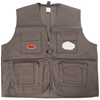 Fishing & Recreational Vest, Size 2XL, Khaki. Buyers Note - Discount Freigh