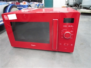 Whirlpool Microwave Oven Gt285rd Red