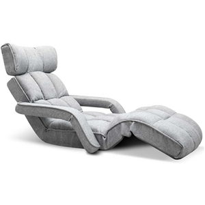 Artiss Adjustable Lounger with Arms - Gr