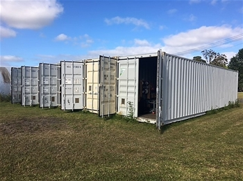 40ft Hightop Shipping Containers