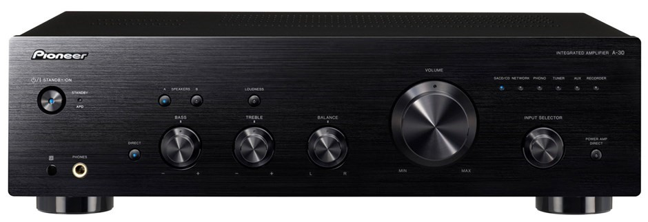 Pioneer A-30 70W Stereo Amplifier (Black)
