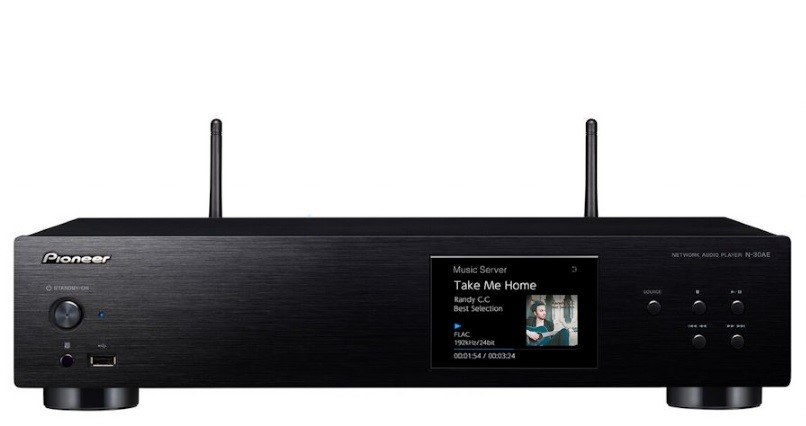 Pioneer N30AE Network Audio Player with AirPlay and Wi-Fi
