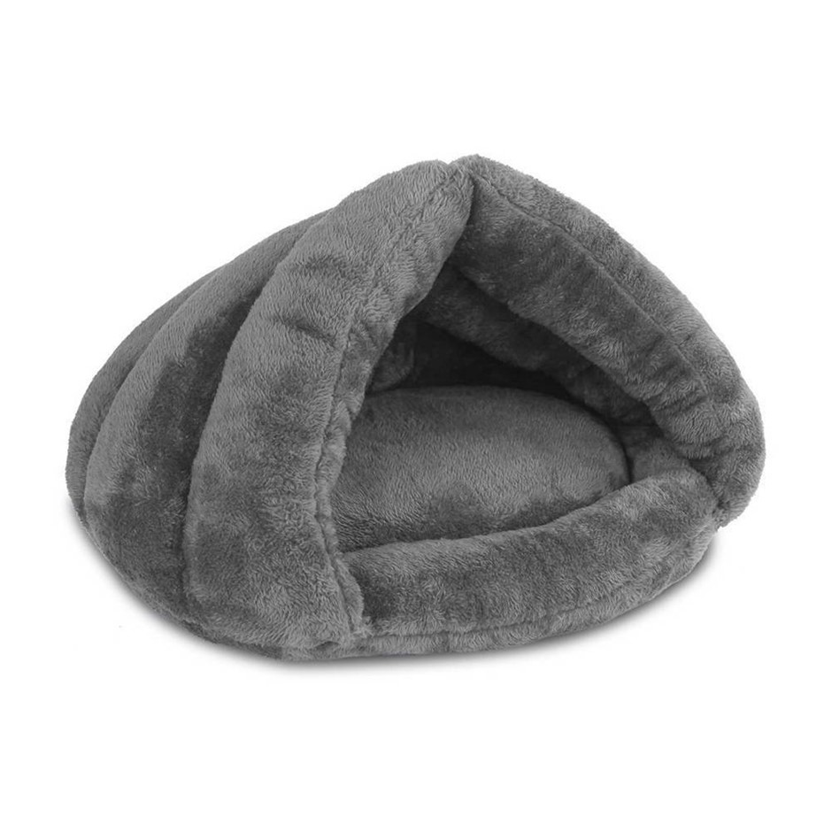 i.Pet Washable Cave Pet Bed - Grey
