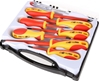 BERENT 8pc Insulated Screwdriver Set in Carry Case, Phillips & Slotted. Buy