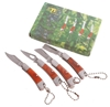 2 x Sets of 4 Mini Pocket Knives 50mm Closed. Buyers Note - Discount Freigh
