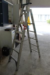 Alco Trade Master Aluminium Combination Ladder