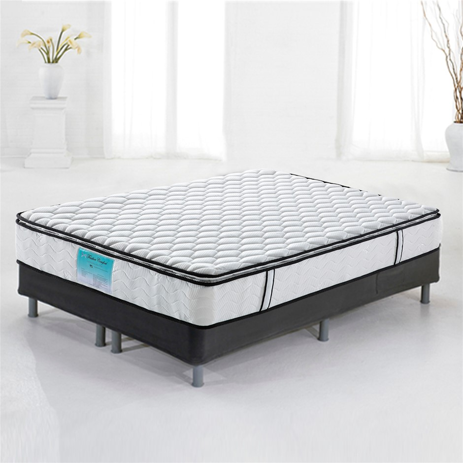 Pillow Top Pocket Spring Mattress with Natural Latex - Queen Size
