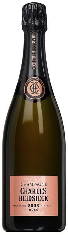 Charles Heidsieck Rosé Vintage 2006 (6 x 750mL), Champagne, France.