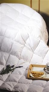 100% White Duck Feather Duvet / Doona /Q