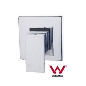 Chrome Bathroom Shower Wall Mixer w/ Wat