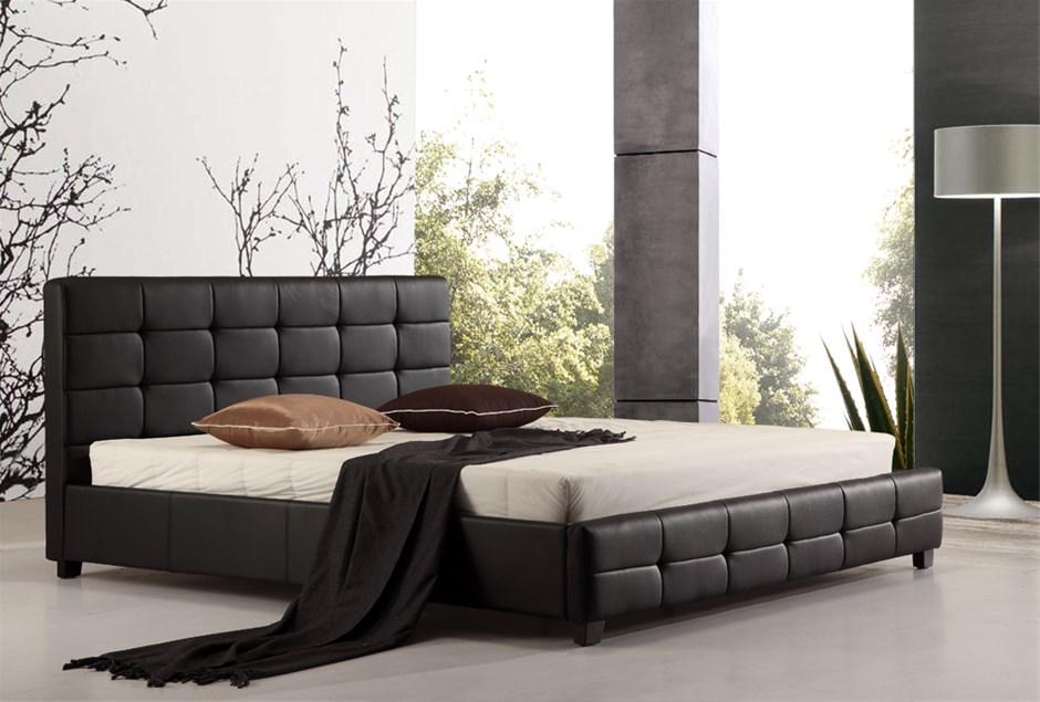 king size iron bed frame   Graysonline