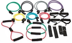 19PC Resistance Excercise Fitness Bands