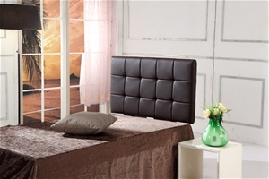 PU Leather Single Bed Deluxe Headboard B