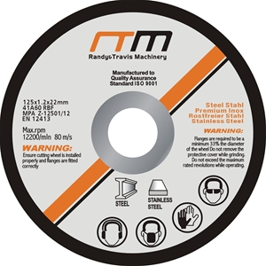 """125mm 5"""" Cutting Disc Wheel for Angle Gr"""