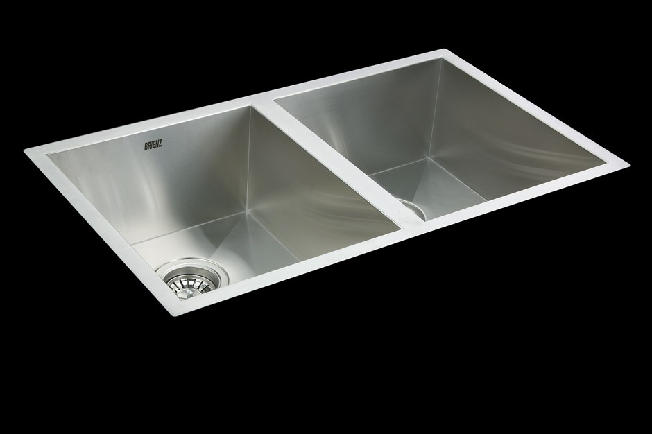 Handmade SS Undermount / Topmount Kitchen Sink with Waste