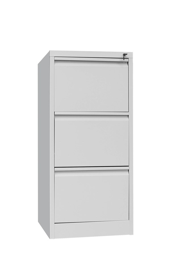 3 Drawer Shelf Office Gym Filing Storage Locker Cabinet