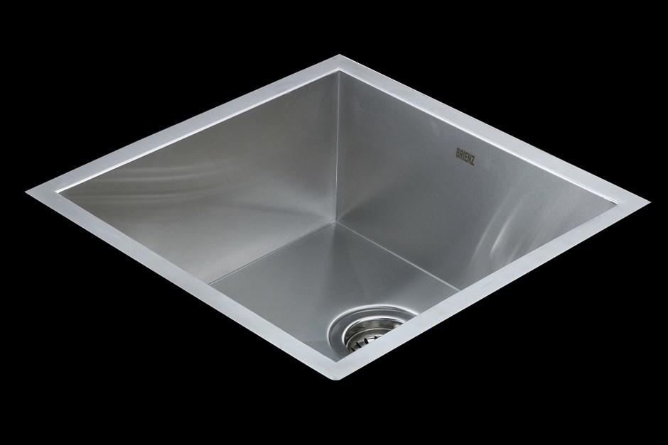440x440mm Stainless Steel Undermount/Topmount Kitchen Laundry Sink w Waste