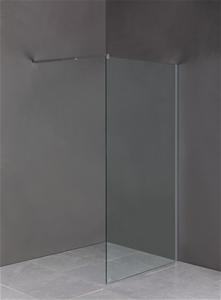 1000 x 2100mm Frameless 10mm Safety Glas