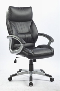 PU Leather Office Chair Executive Padded
