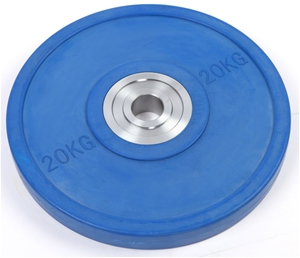 20KG PRO Olympic Rubber Bumper Weight Pl