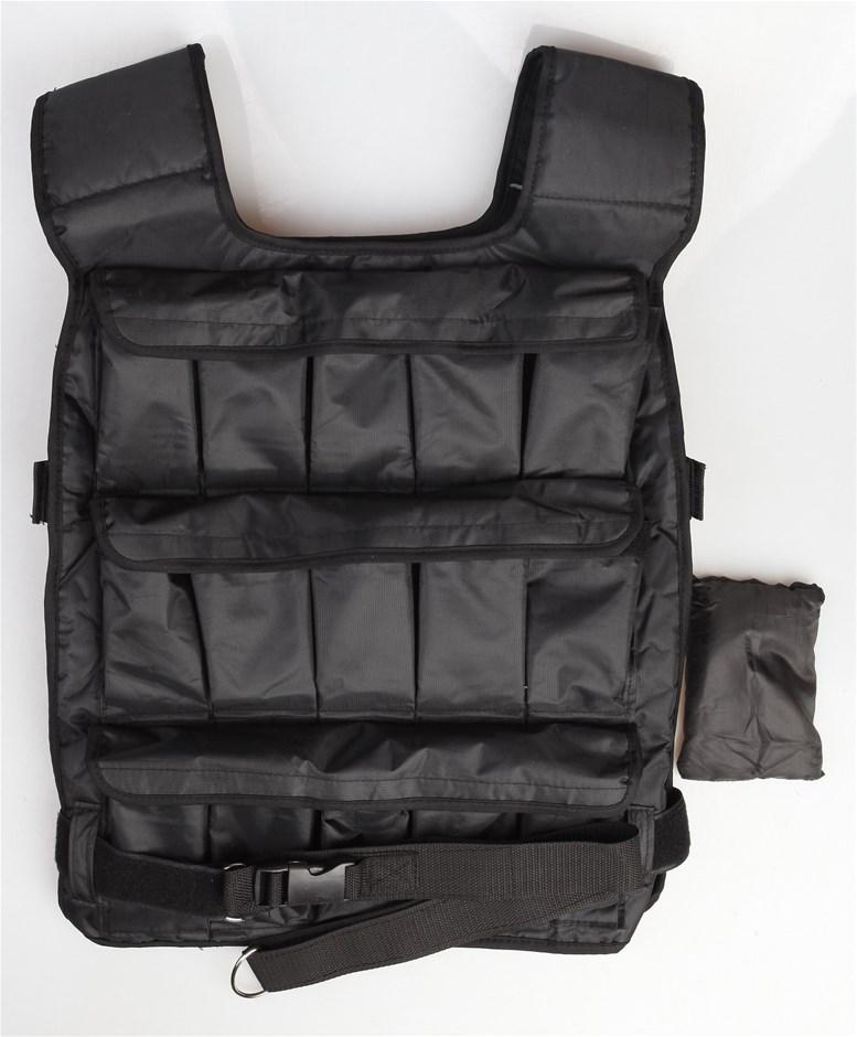 30Kg Adjustable Weighted Training Vest