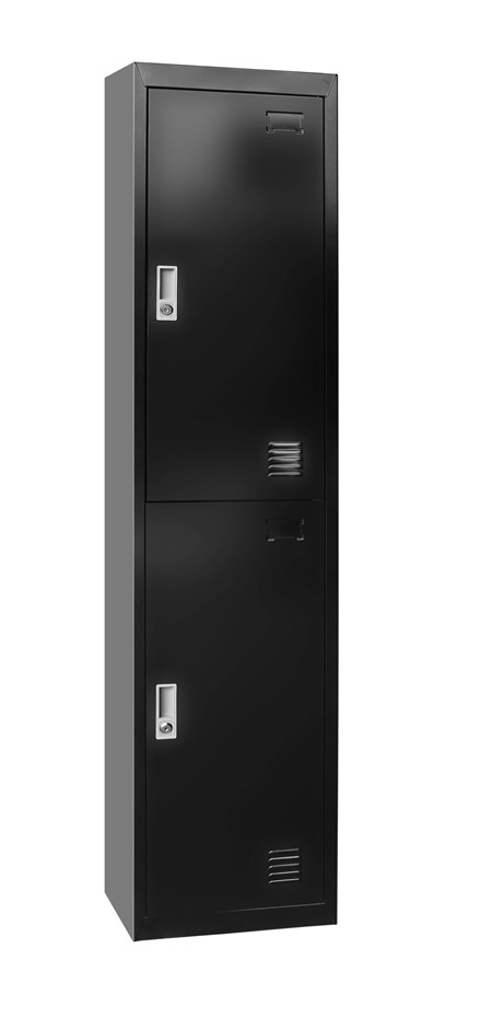 Two-Door Office Gym Shed Storage Lockers