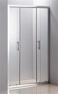 1200mm Sliding Door Safety Glass Shower