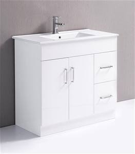 Buy 900mm Bathroom Vanity Unit Ceramic Basin Della Francesca