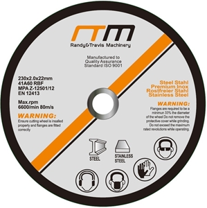 "230mm 9"" Cutting Disc Wheel for Angle Gr"