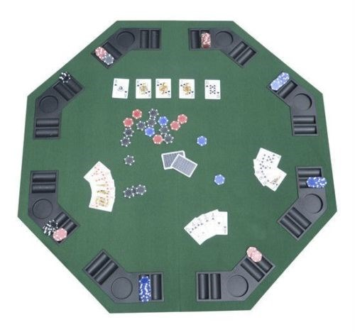 "48"" Folding Poker & Blackjack Tabletop"