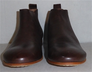 3089f581e20 Aquila Mens Dark Brown Elastic Sided Boots - Size 41