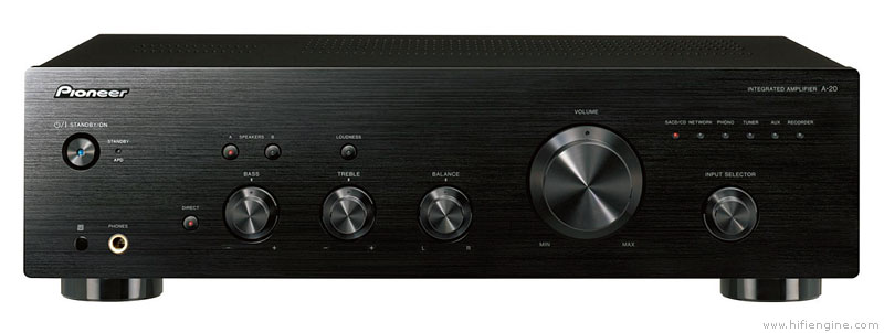 Pioneer A20 50W Stereo Amplifier with Direct Energy Design