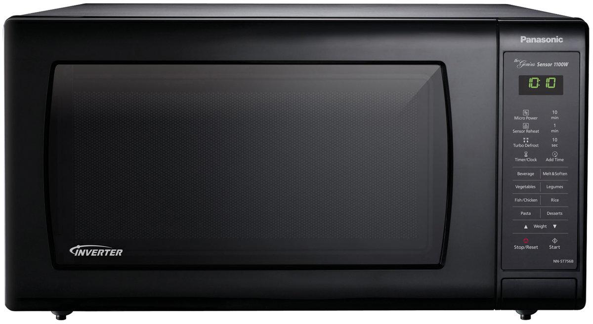 Panasonic 44L Inverter Microwave Oven (Black) (NN-ST756BQPQ)