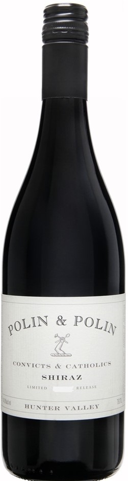 Polin & Polin Convicts & Catholics Shiraz 2015 (12 x 750mL), NSW