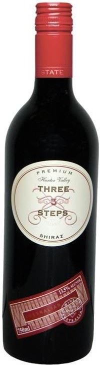 Three Steps Shiraz 2013 (12 x 750mL), Hunter Valley, NSW.