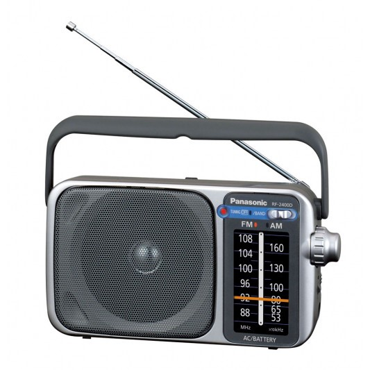 Panasonic RF-2400DGN-S Portable AM/FM Radio