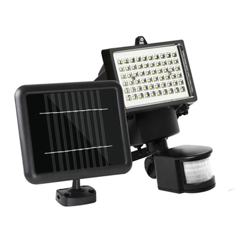 60 SMD LED Solar Sensor Light