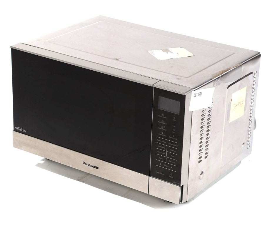 PANASONIC 1100W Microwave Oven Model NN-SF574S. N.B. Not in Orginal Carton.