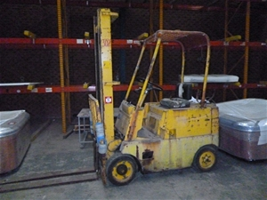 Forklift, Clark, Model: C40,