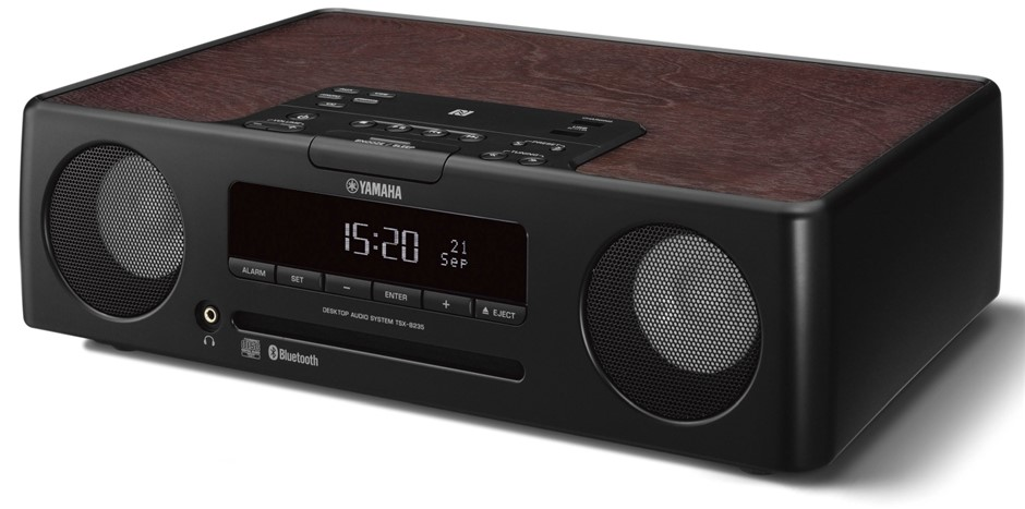 Yamaha TSX-B235D Lifestyle Audio CD Micro HiFi Wireless System (Black)