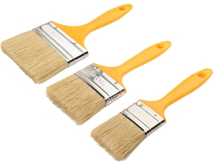 3 Packs of 3 x TOLSEN Flat Paint Brush,