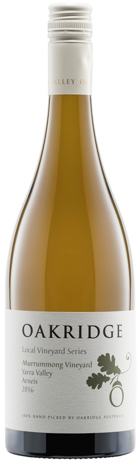 Oakridge `Local Vineyard Series` Arneis 2016 (6 x 750mL), Yarra Valley.