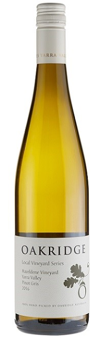 Oakridge `Local Vineyard Series` Pinot Gris 2016 (6 x 750mL), Yarra Valley.