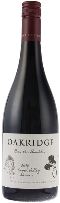 Oakridge `Over the Shoulder` Shiraz 2014 (6 x 750mL), Yarra Valley, VIC.