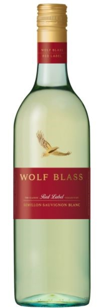 Wolf Blass `Red Label` Semillon Sauvignon Blanc 2017 (6 x 750mL), SE AUS.