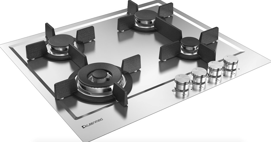 Kleenmaid 60cm Stainless Steel Gas Cooktop (GCT6020)